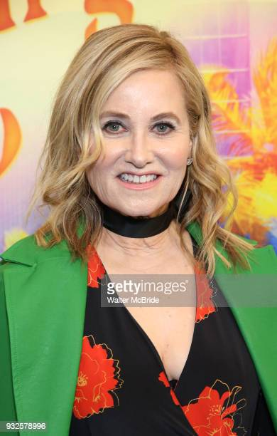Maureen McCormick attends the Broadway Opening Night Performance of Escape To Margaritaville at The Marquis Theatre on March 15 2018 in New York City