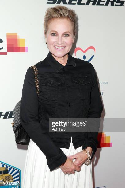 Maureen McCormick attends the CASA Of Los Angeles' 2018 Evening To Foster Dreams Gala at The Beverly Hilton Hotel on April 18 2018 in Beverly Hills...