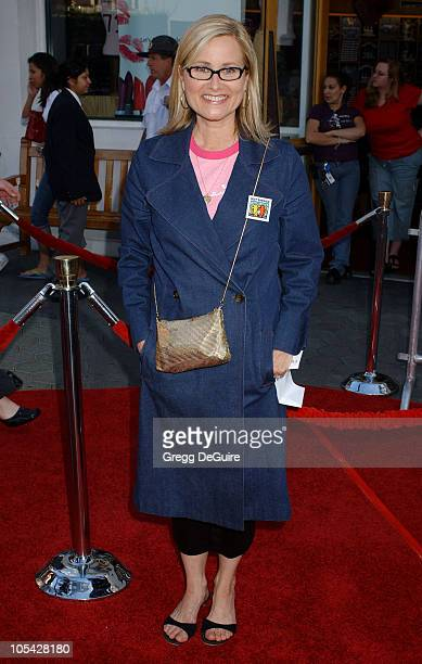Maureen McCormick during Cinderella Man Los Angeles Premiere Arrivals at The Gibson Amphitheatre in Universal City California United States