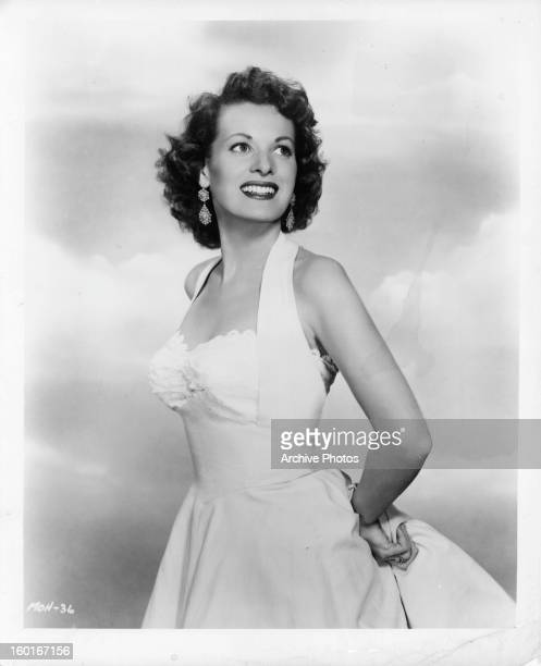 Maureen O'Hara publicity portrait for the film 'Sitting Pretty' 1948