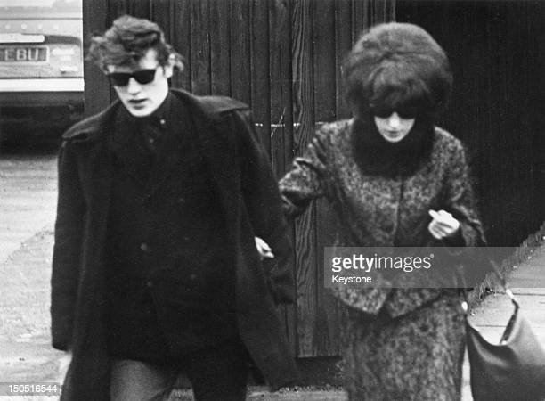 Maureen Smith sister of Myra Hindley and her husband David 1965 Moors murderers Hindley and Brady were arrested following a statement to the police...
