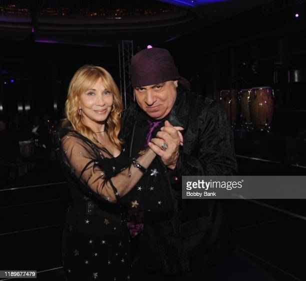 Maureen Van Zandt and Steve Van Zandt attend the 5th Annual Little Steven's Policeman's Ball at Mandarin Oriental New York on December 20 2019 in New...