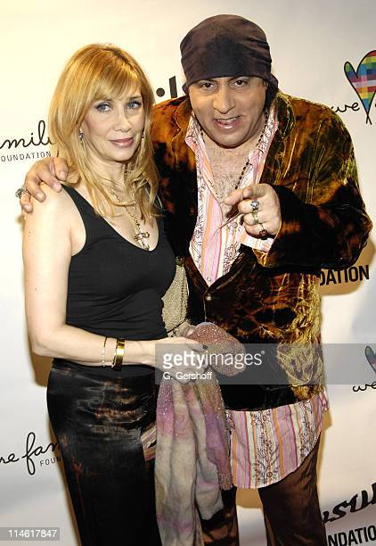 Maureen Van Zandt and Steve Van Zandt during Nile Rodgers' We Are Family Foundation's Fifth Annual Celebration at Manhattan Center's Hammerstein...