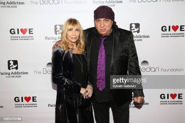Maureen Van Zandt and Steven Van Zandt attend Facing Addiction With NCADD Gala 2018 at The Rainbow Room on October 8 2018 in New York City
