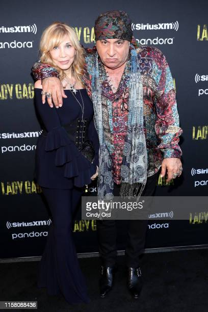 Maureen Van Zandt and Steven Van Zandt attend SiriusXM Pandora Present Lady Gaga At The Apollo on June 24 2019 in New York City