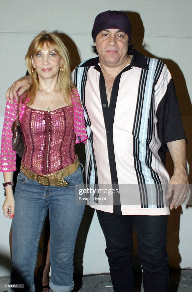 Maureen Van Zandt and Steven Van Zandt during The Cast of 'The Sopranos' Sighting at GLO in New York City - August 7, 2005 at GLO in New York City, New York, United States.