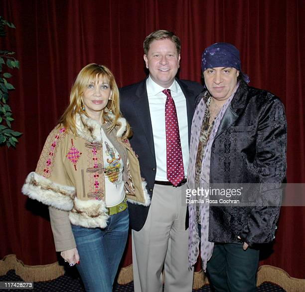 Maureen Van Zandt Chris Williams and Little Steven Van Zandt
