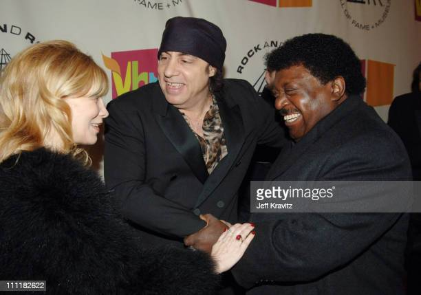 Maureen Van Zandt Steven Van Zandt presenter and Percy Sledge inductee