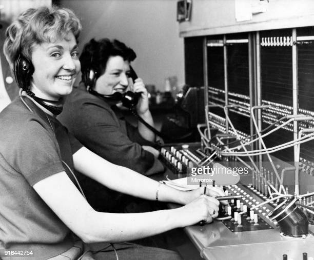 Maurenn Mulholland and Doreen McCabe working at Balliol House 7th September 1967