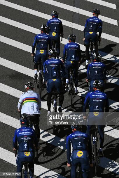 Mauri Vansevenant of Belgium, James Knox of United Kingdom, Fausto Masnada of Italy, Mikkel Frolich Honore of Denmark, Pieter Serry of Belgium,...