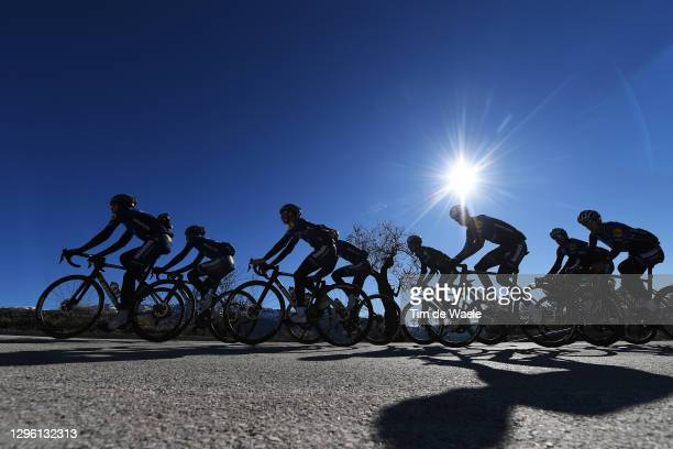 Mauri Vansevenant of Belgium, James Knox of United Kingdom, Fausto Masnada of Italy, Mikkel Frolich Honore of Denmark, Pieter Serry of Belgium,...