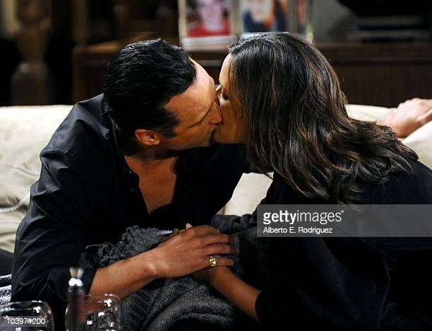 Maurice Benard and Dahlia Salem in a scene that airs the week of September 27th on ABC�s GENERAL HOSPITAL