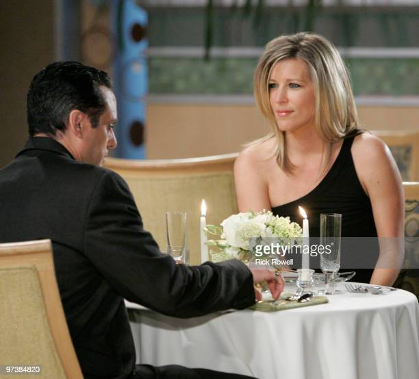 HOSPITAL Maurice Benard and Laura Wright in a scene that airs the week of March 8 2010 on Walt Disney Television via Getty Images Daytime's General...
