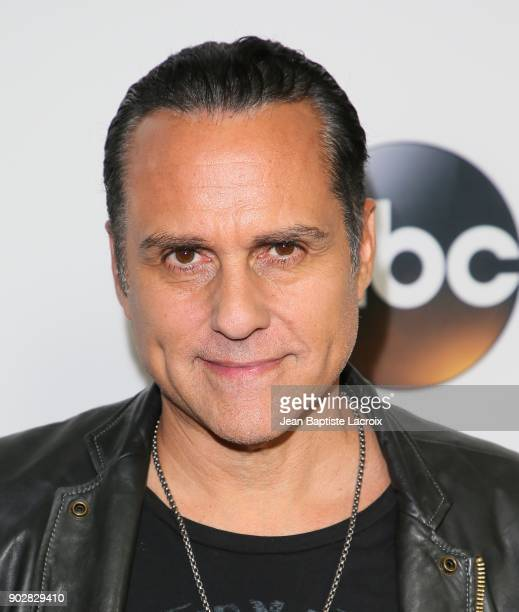 Maurice Benard attends the Disney ABC Television Group Hosts TCA Winter Press Tour 2018 on January 8 2018 in Pasadena California