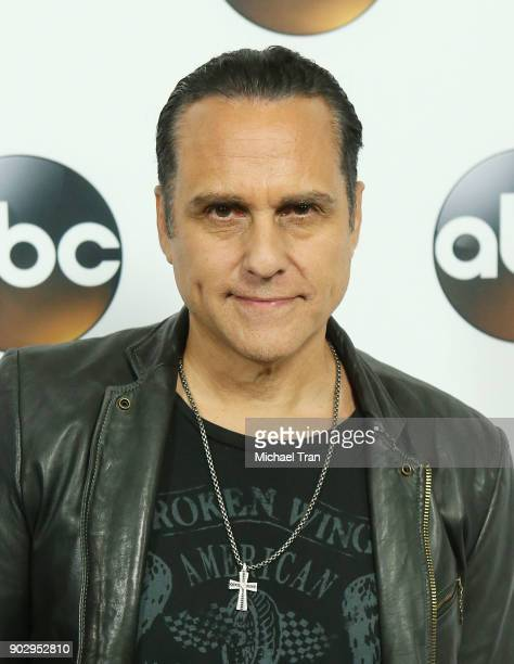 Maurice Benard attends the Disney ABC Television Group hosts TCA Winter Press Tour 2018 held at The Langham Huntington on January 8 2018 in Pasadena...