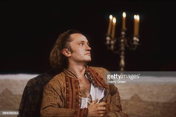 Maurice Benichou directs a new version of Moliere's Don Juan ou le festin de pierre at the Theatre des Bouffes du Nord Actor Niels Arestrup stars as...