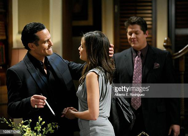 Maurice Bernard Dahlia Salem and Derk Cheetwood in a scene that airs the week of September 27th on ABC�s GENERAL HOSPITAL
