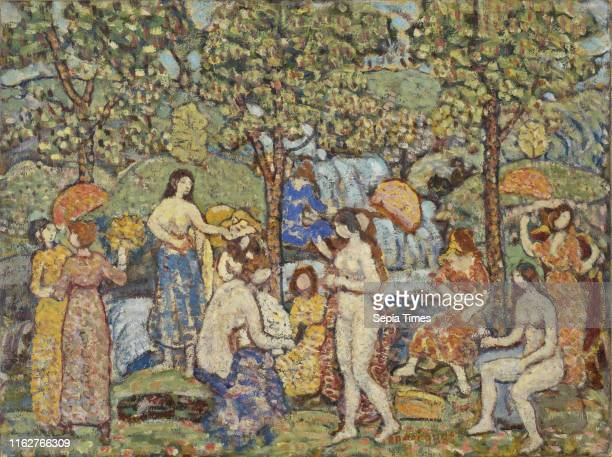 Idyl Maurice Brazil Prendergast circa 1912Ð1915 Oil on canvas Maurice Prendergast was an American artist who applied the lessons of French...
