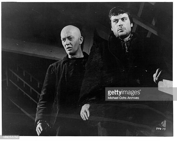 Maurice Browning and Oliver Reed in a scene from the film 'The Party's Over' 1965 Photo by Allied Artists/Getty Images