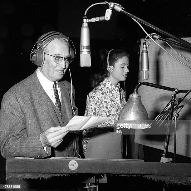 Maurice Chevalier records in duet with Gigliola Cinquetti