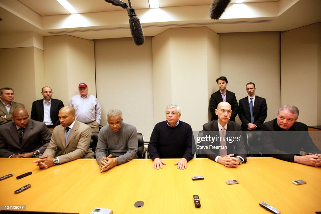 NBA And Players Representatives Meet To Discuss Possible Settlement