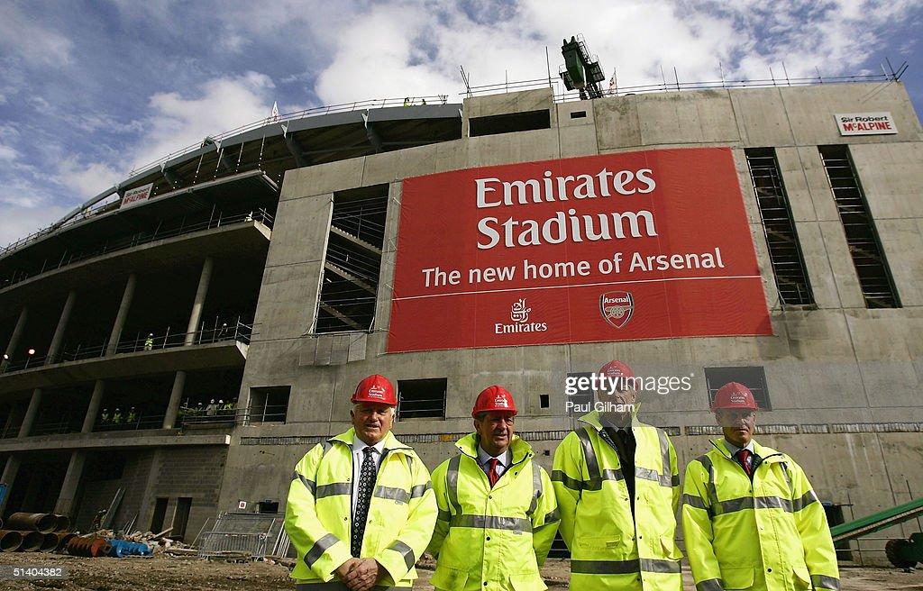 New Arsenal Emirates Stadium : ニュース写真