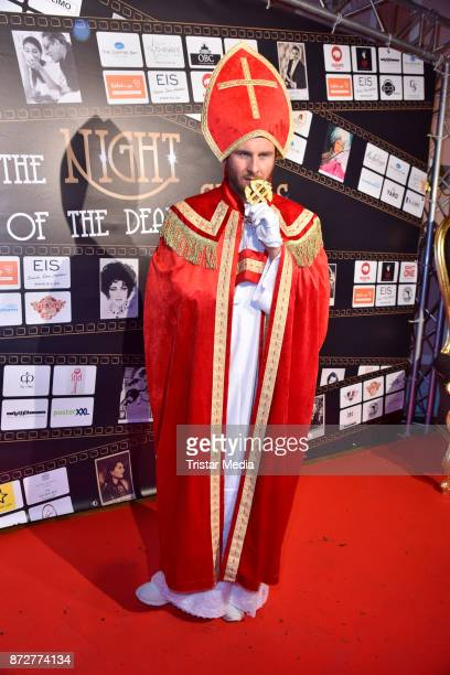 Maurice Gajda arrives at the 'Night Of The Dead Stars' Masquerade Ball at Schloss Marquardt on November 10 2017 in Potsdam Germany
