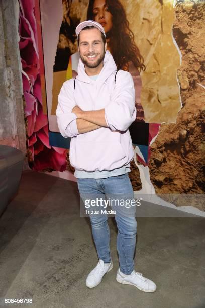 Maurice Gajda attends the Ewa Herzog show during the MercedesBenz Fashion Week Berlin Spring/Summer 2018 at Kaufhaus Jandorf on July 4 2017 in Berlin...