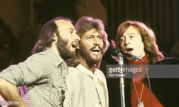 Maurice Gibb Barry Gibb and Robin Gibb