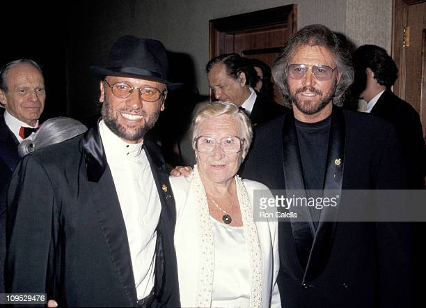 Maurice Gibb Barry Gibb of The Bee Gees and Mother