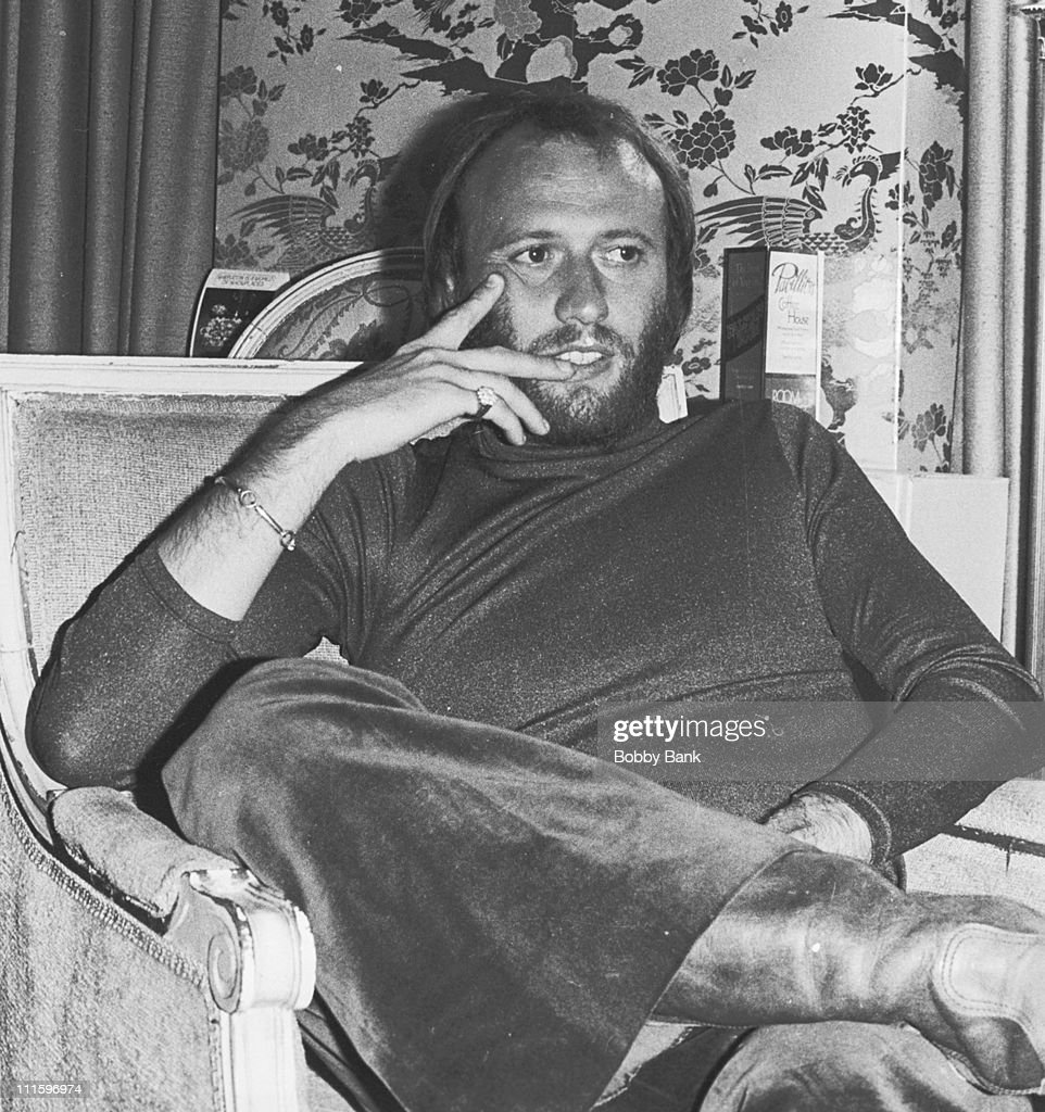 Maurice Gibb during The Bee Gees In New York City - 1976 - 1979 at Plaza Hotel in New York City, New York, United States.
