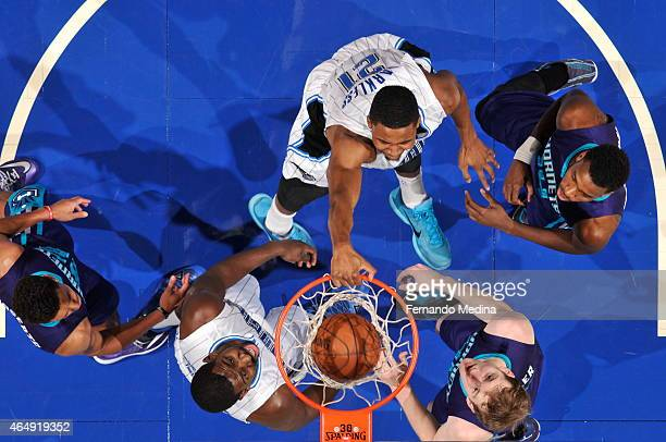 Maurice Harkless of the Orlando Magic dunks against the Charlotte Hornets on March 1 2015 at Amway Center in Orlando Florida NOTE TO USER User...