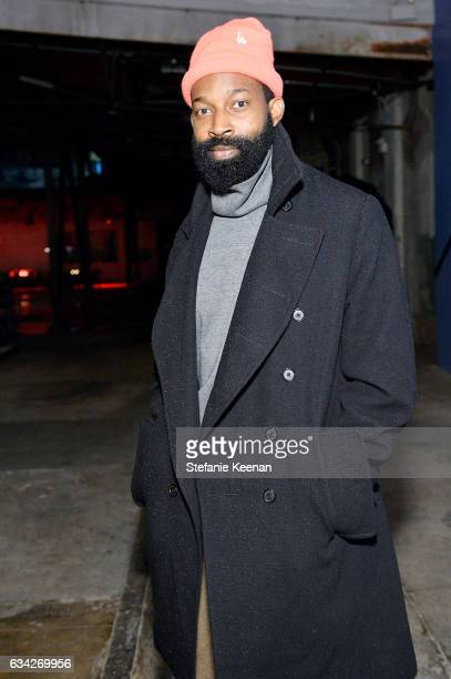 Maurice Harris attends Rachel Comey Fall Winter 2017 Collection Presentation on February 7 2017 in Los Angeles California