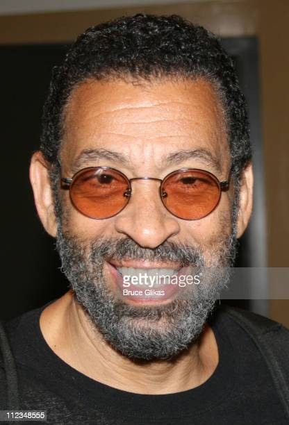 Maurice Hines during Judge Marilyn Milian of The Peoples Court visits Hot Feet on Broadway at The Hilton Theater in New York City New York United...