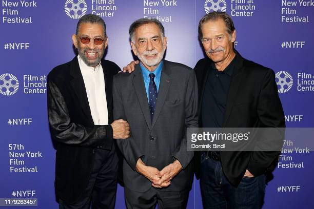 Maurice Hines Francis Ford Coppola and James Remar attend the The Cotton Club screening during the 57th New York Film Festival at Alice Tully Hall...