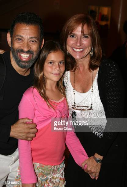 Maurice Hines Judge Marilyn Milian and daughter Alexandra Schlessinger