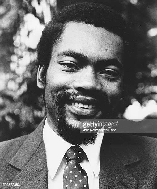 Maurice Jackson Independent Candidate For DC City Council AtLarge DC Afro' November 1980