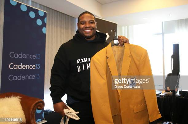 Maurice Jones-Drew at The Dave Dameshek Football Program Podcast during the 2019 SXSW Conference and Festivals at JW Marriott Austin on March 9, 2019...