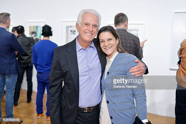 Maurice Marciano and Aileen Getty attend MOCA's Leadership Circle Members' Opening And Artist Dinner For Catherine Opie 700 Nimes Road at MOCA...