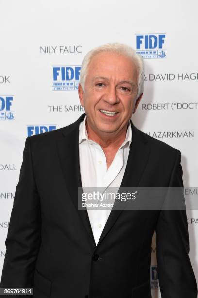 Maurice Marciano at the FIDF Western Region Gala held at The Beverly Hilton Hotel on November 2 2017 in Beverly Hills California