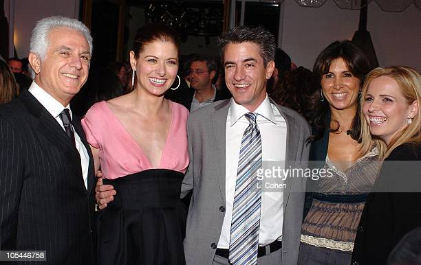 Maurice Marciano Debra Messing Dermot Mulroney Nathalie Marciano and Michelle Chydzik producers