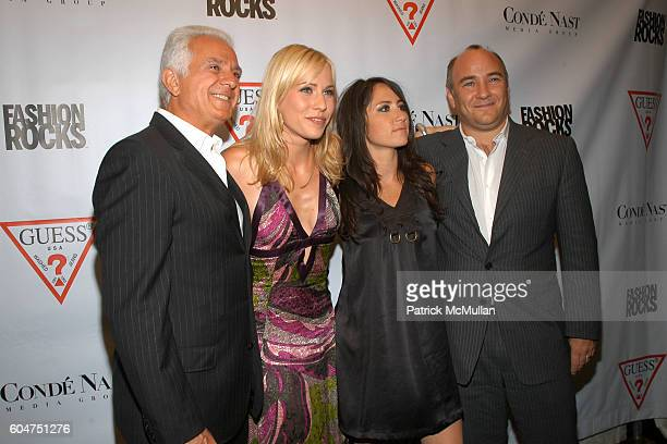 Maurice Marciano Natasha Bedingfield KT Tunstall and Richard Beckman attend Guess 25th Aniversary Party at Capitale on September 5 2006 in New York...