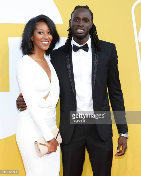 Maurice Ndour attends the 2017 NBA Awards at Basketball City Pier 36 South Street on June 26 2017 in New York City