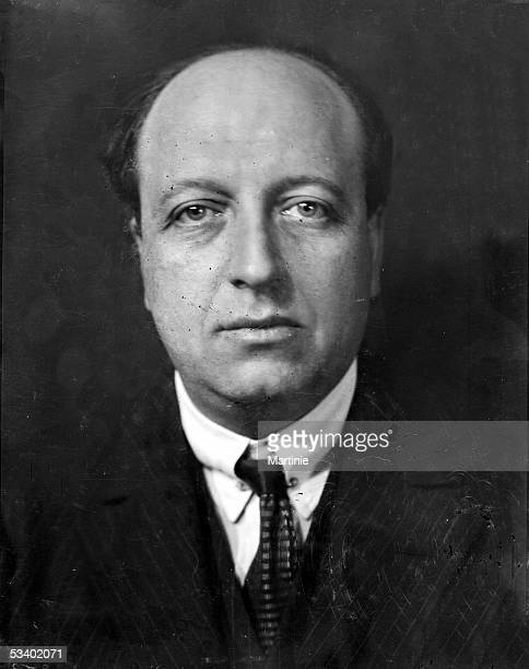 Maurice of Rothschild French banker and politician France about 1930 MAR7799