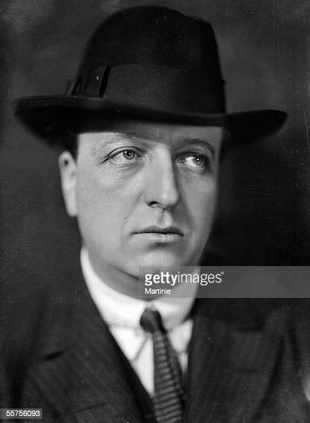Maurice of Rothschild French banker and politician France about 1930 MAR7800