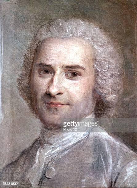 Maurice Quentin de la Tour Portrait of JeanJacques Rousseau 18th century France Musée de SaintQuentin