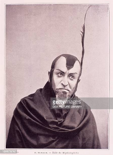 Maurice Renaud French baritone as Mephistopheles in The Damnation of Faust by Hector Berlioz 1903 Paris BibliothèqueMusée De L'Opéra National De...
