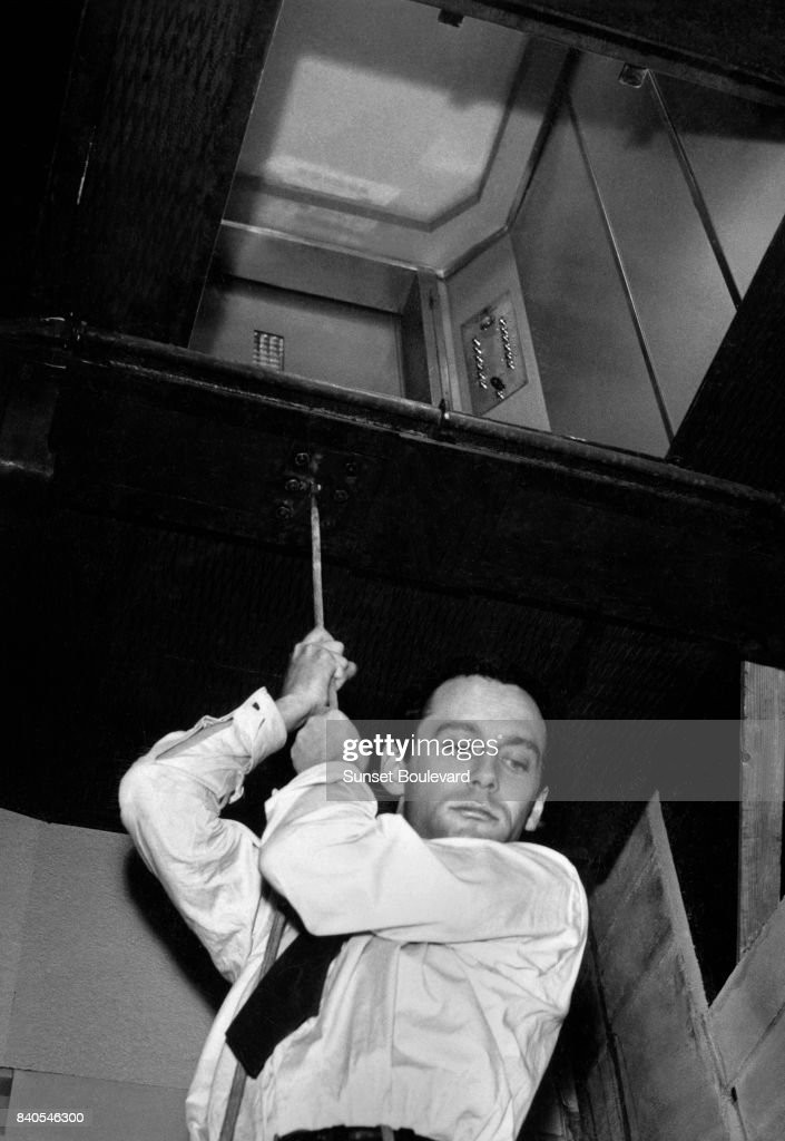 Maurice Ronet in 'Lift to the Scaffold' directed by Louis Malle