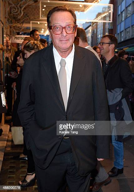 Maurice Saatchi Baron Saatchi attends the press night of 'Photograph 51' at Noel Coward Theatre on September 14 2015 in London England