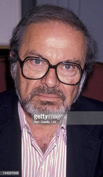 Maurice Sendak attends the book signing of Maurice Sendak 'The Mother Goose Collection' on July 26 1990 in New York City